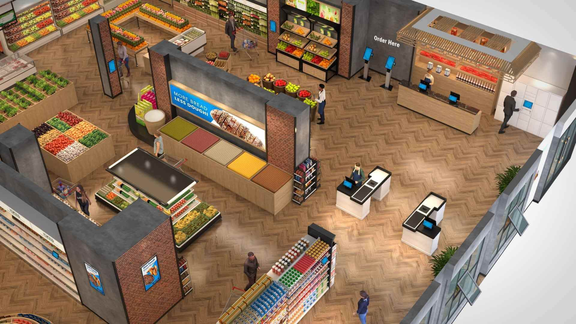 Make Grocery Shopping Easy with Interactive Solutions